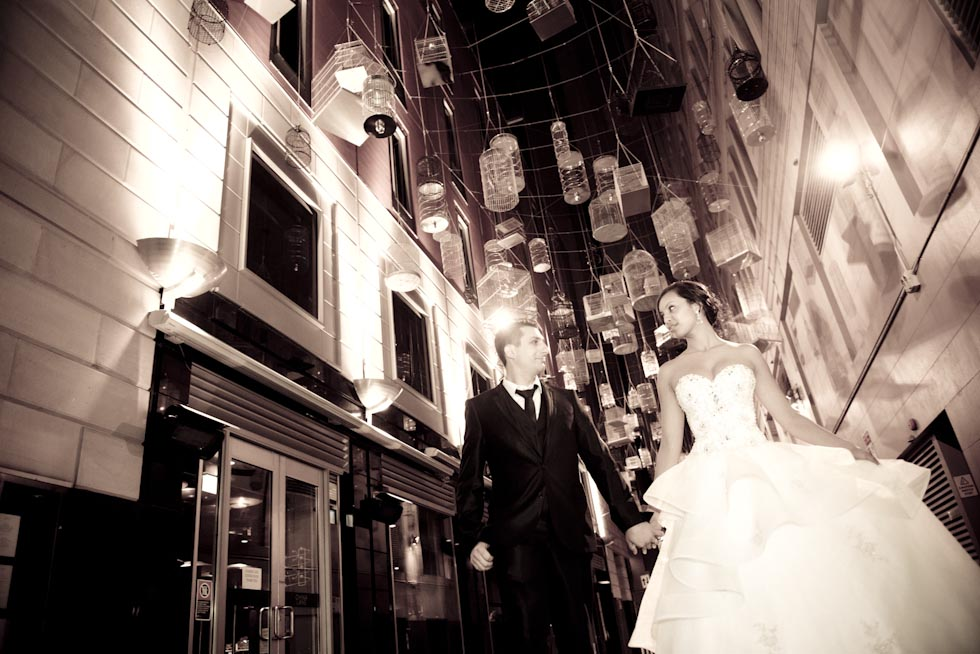 Wedding photo locations Sydney - Angel Place Cages
