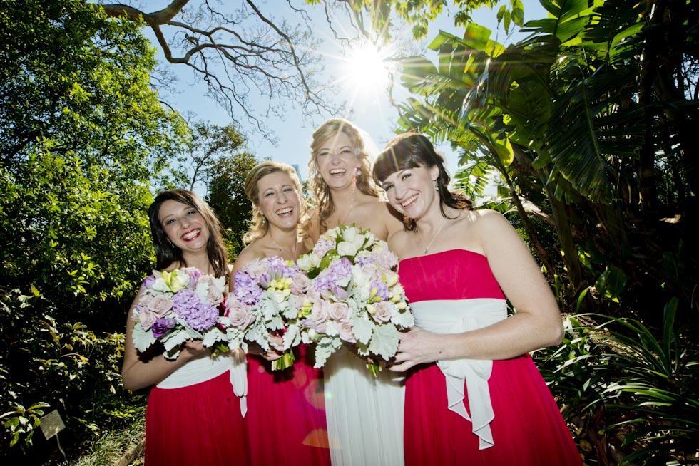 Wedding photography locations Sydney - Botanical Gardens