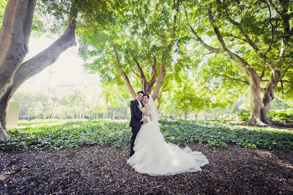 Wedding Photography Locations Sydney - Hyde Park
