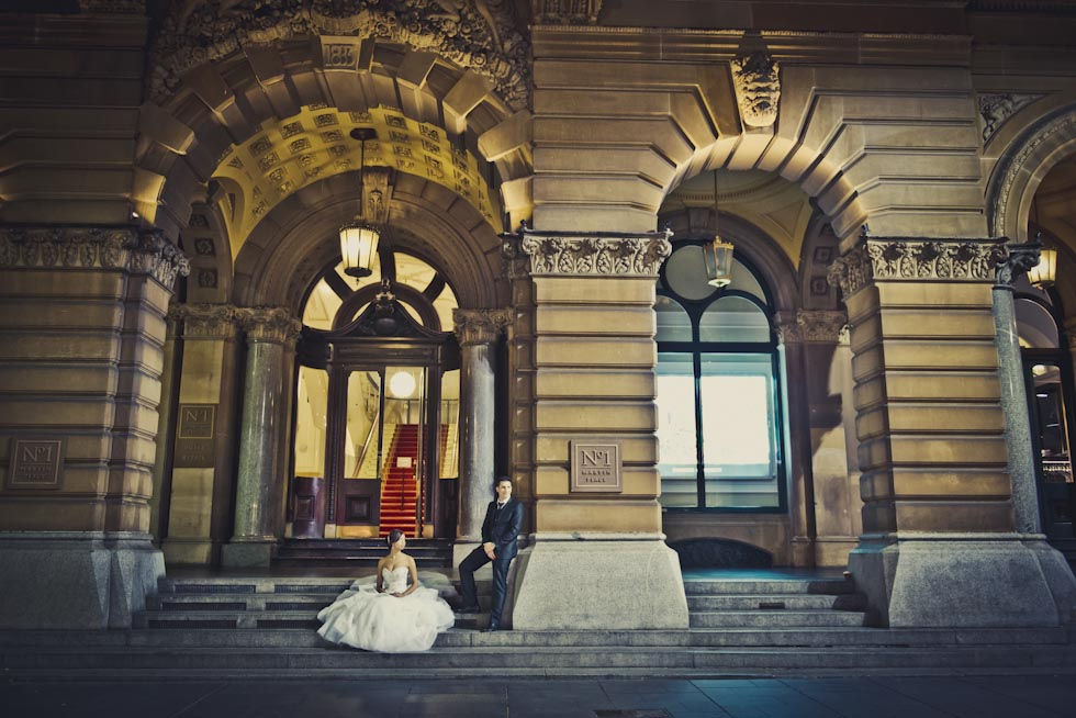 Wedding photography locations Sydney - Martin Place
