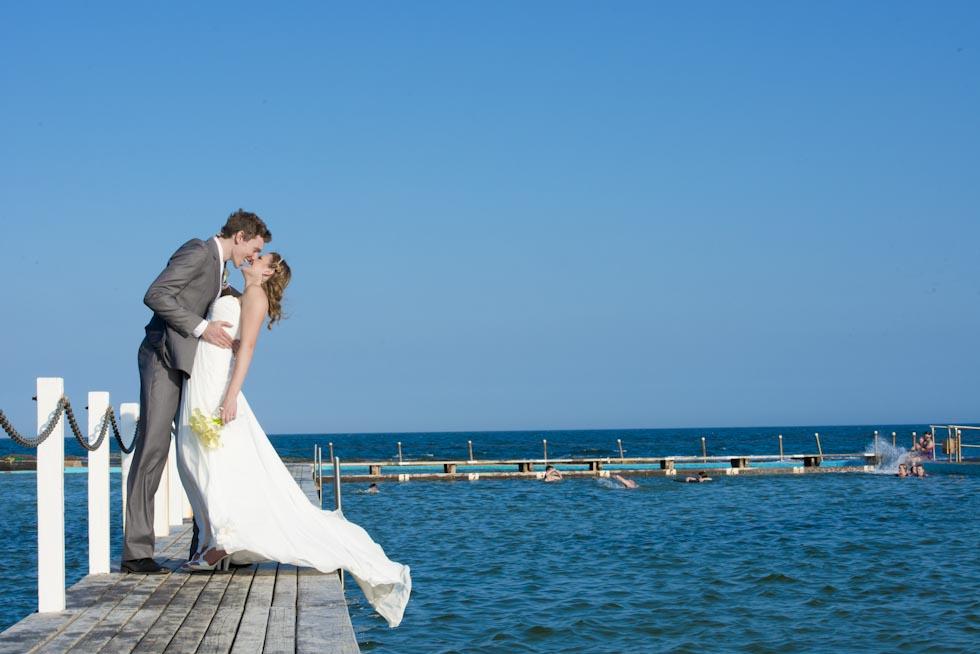 Wedding photography locations Sydney - Narabeen Rock Pool