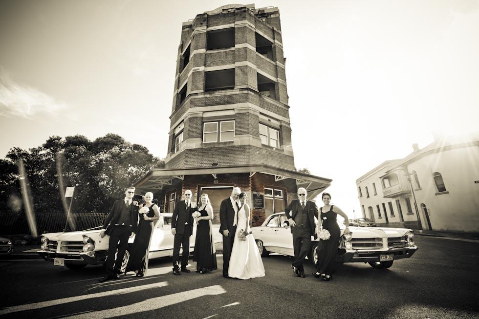 Wedding photo locations Sydney - Palaisaide Hotel The Rocks