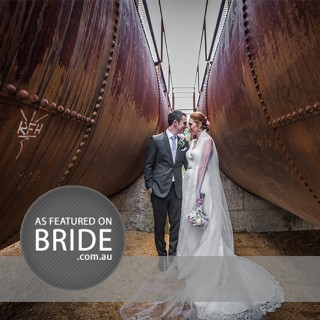 Bride Magazine Autumn 2015 | Wedding Photography Feature for Sam and Michael