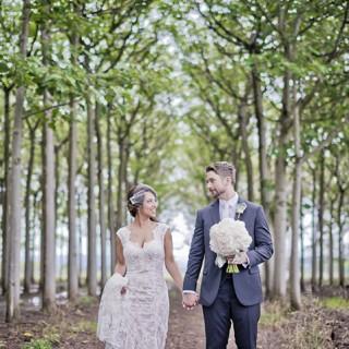 Richmond tree plantation wedding photos