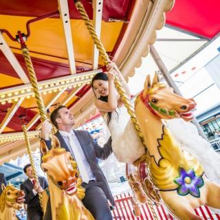Luna Park Sydney Wedding Photos | Lucy and Hamish