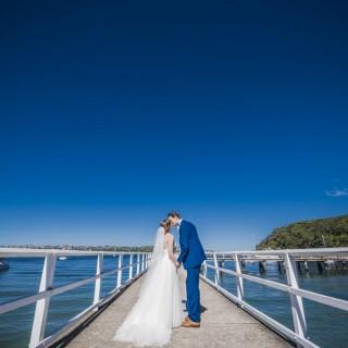 Orso Bayside Wedding Photos | Holly and Luke