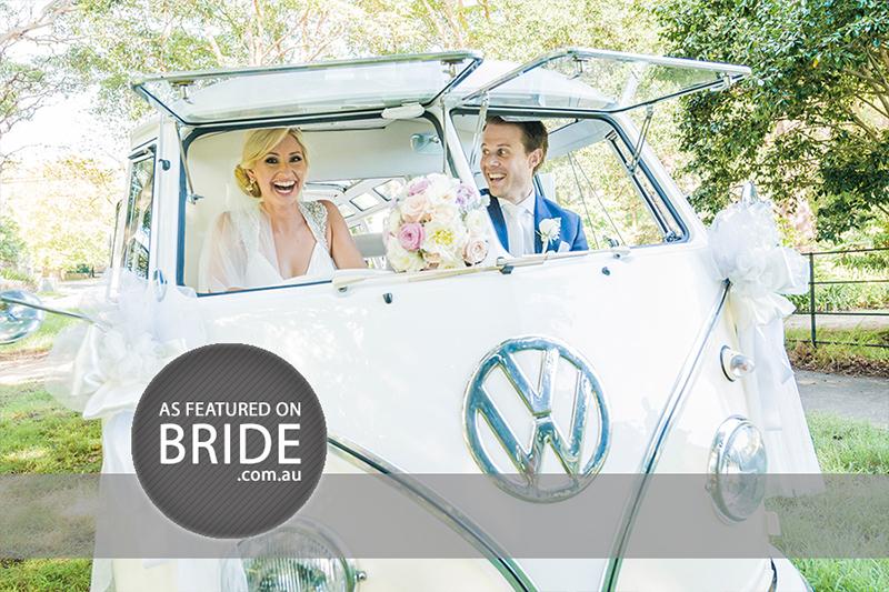 Sydney wedding photographer Morris Images featured in Bride Magazine