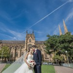 Wedding St Marys Cathedral College Street Sydney