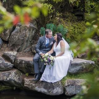 Mt Tomah Botanical Gardens Wedding Photos | Kim and Craig